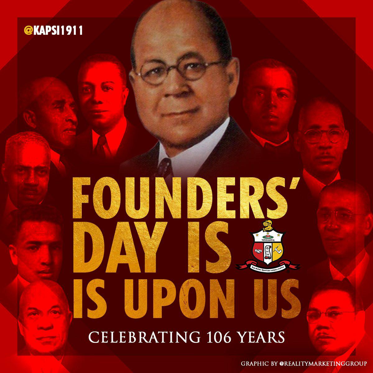 Happy Founders' Day Kappa Alpha Psi Fraternity, Inc #106yrs
